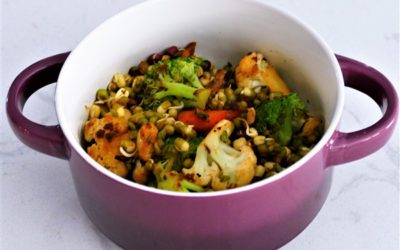 Stir-Fry Sprouts and Vegetables