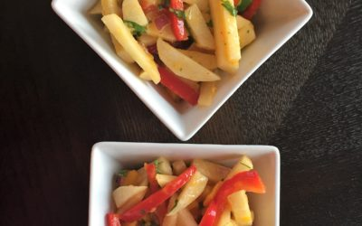 Tangy-ly Spicy-Sweet Jicama Salad