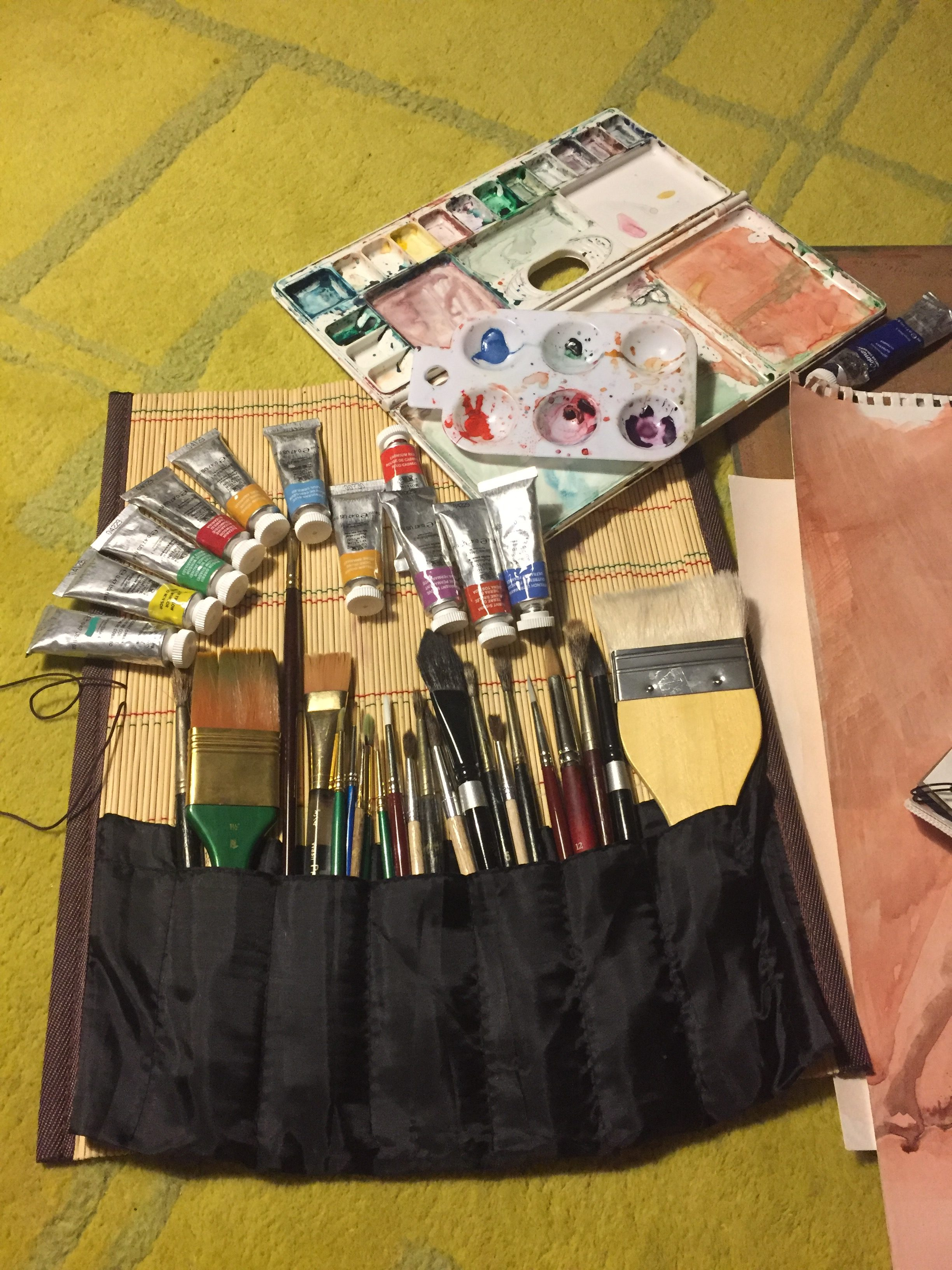 My Tryst with Water Colors: 100 Days and Beyond…